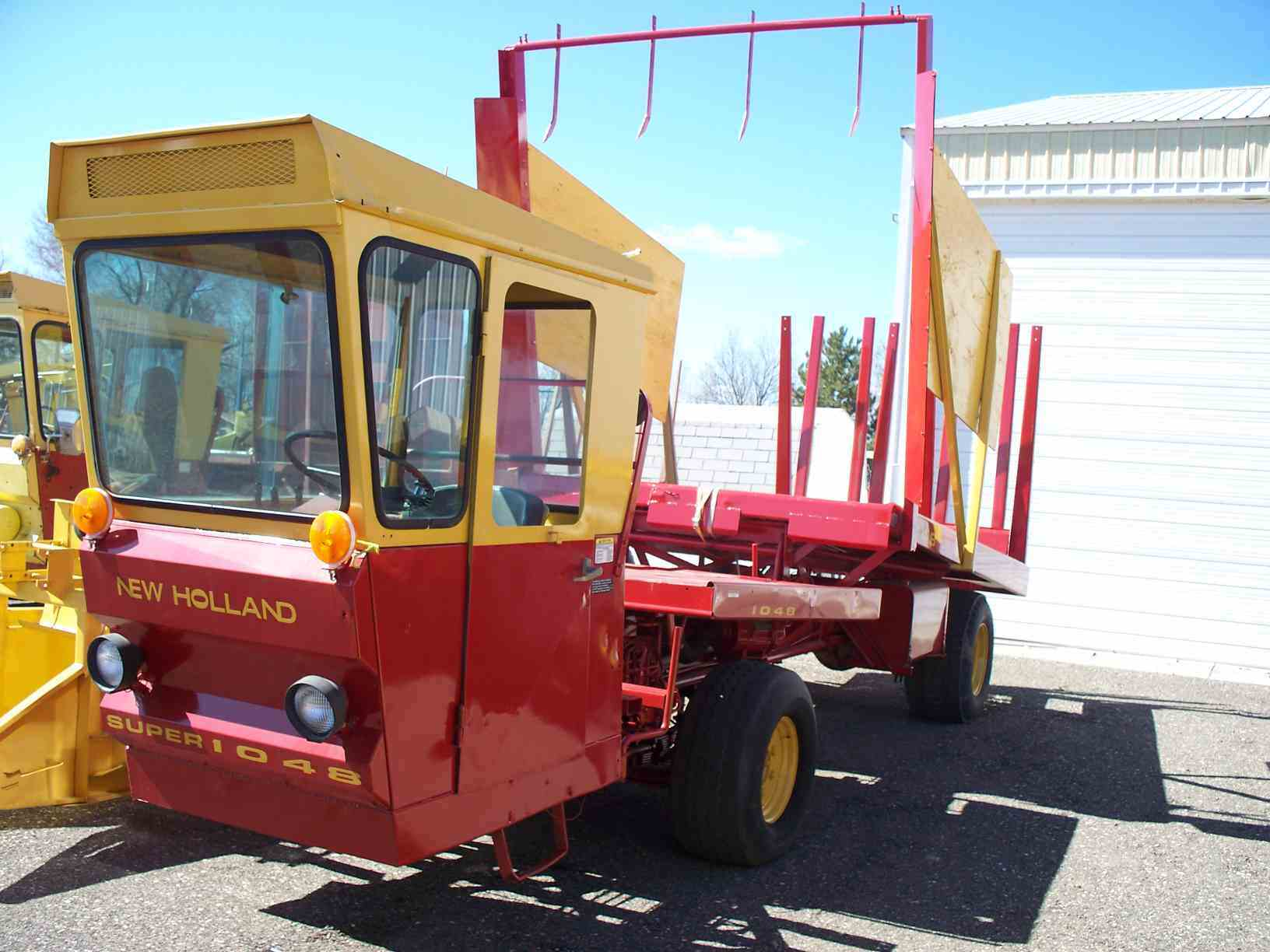 Jim Wilhite's New Holland Balewagons, by your Balewagon / Bale Wagon