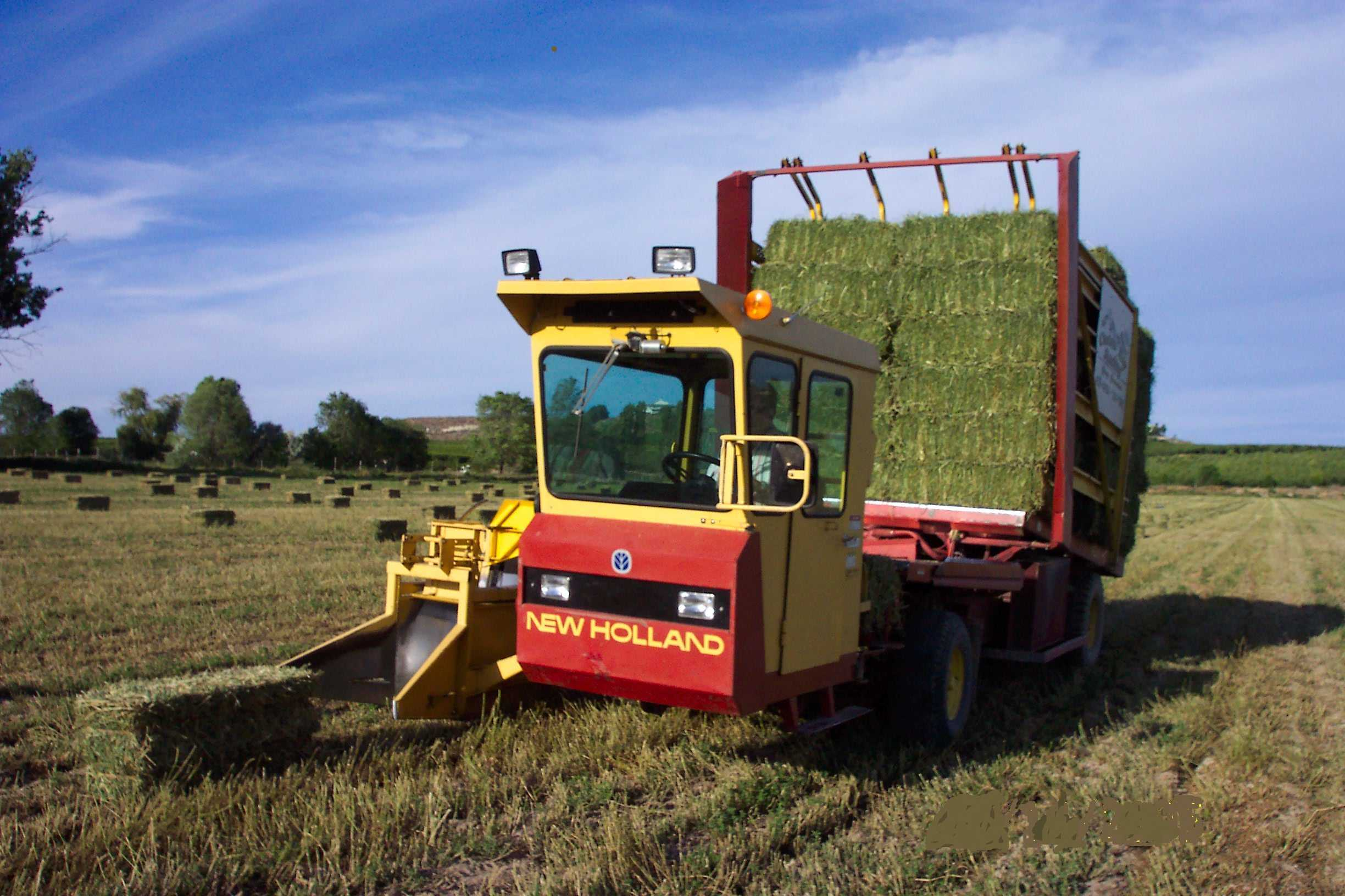 Jim Wilhite's New Holland Balewagons, by your Balewagon / Bale Wagon from  Jim